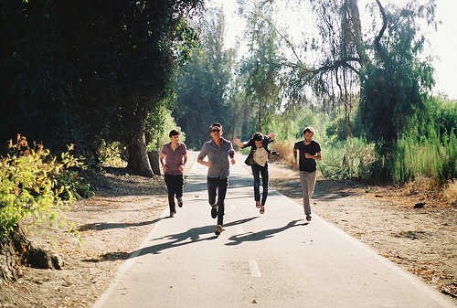 guys running slow road woods