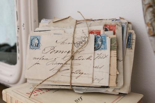 packaged letters bundle